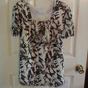 Dressbarn woman blouse size 22/24 blingy VGC